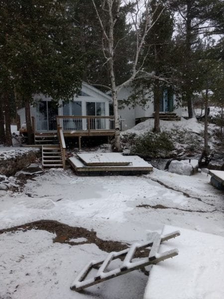 Ice Fishing Season Bobs Lake