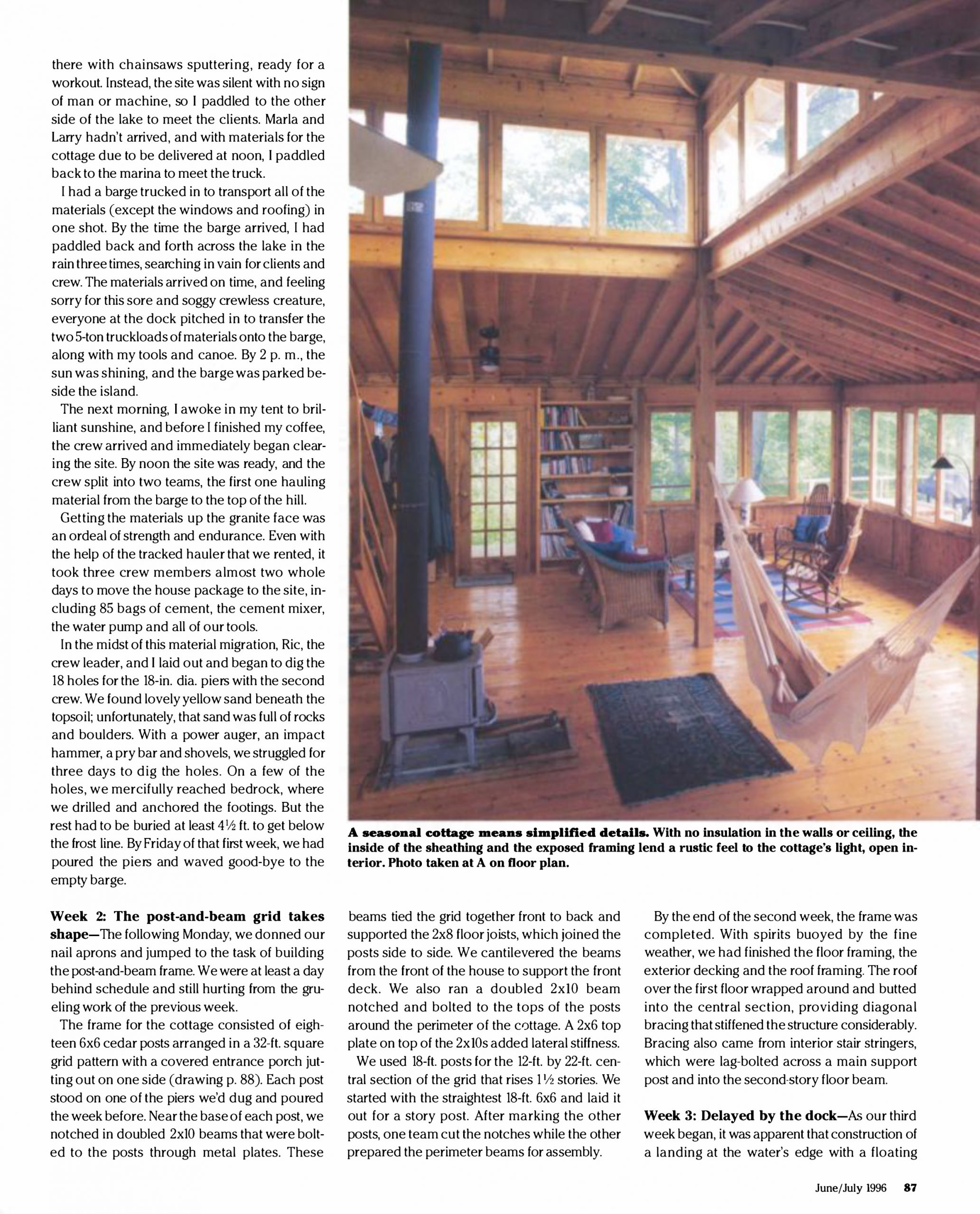 Fine Home Building Article